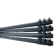 Made in China 2 piece telescopic pole for a metal detector, Carbon fiber telescopic mast for metal detector