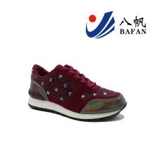 2016 nouvelles chaussures de toile de femmes (BFJ-41910)
