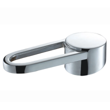 Metal faucet handle matched with shower head