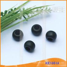 Forme el extremo / el grano plásticos de la cuerda para las prendas KE1051 #