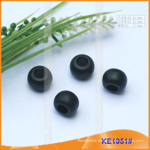 Fashion Plastic cord end/bead for garments KE1051#