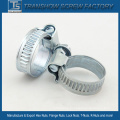 Galvanized Steel American Type Hose Clamp