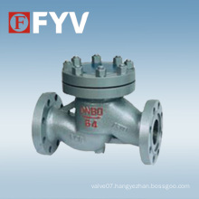 API Cast Steel Piston-Lift Check Valve