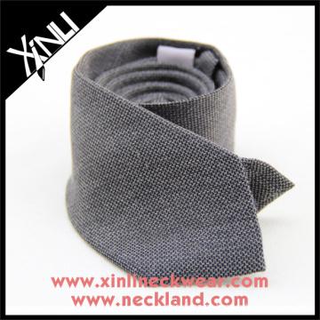 Venta caliente 2017 hombres de lana de seda de lujo mezclado corbata coreana