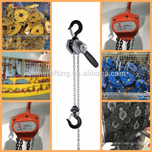 top quality hand chain hoist gold supplier;lifting chain hoist