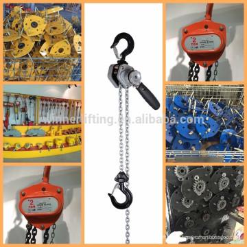 de calidad superior de la cadena de bloque de la grúa de oro proveedor;elevación de la cadena de la grúa