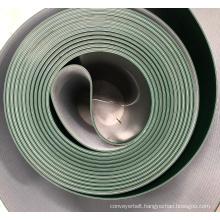 Conveyer belt power belt  PVC Green color