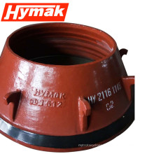 crusher parts small rock crusher spare bowl liner for sale