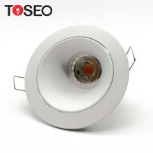 Aluminium holder gu10 recessed anti glare led lighting fixture grid led downlight