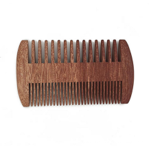 FQ marque en vrac pas cher logo personnalisé en bois peigne à poux de cheveux