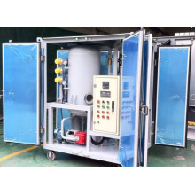 Double-stage High Vacuum used Transformer Oil Filtration Machine