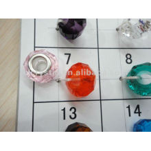 Large hole glass beads fashion big hole beads