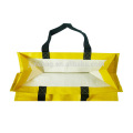 Standard size reusable recycle non woven shopping bag carrier