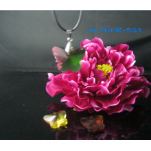 Collar de cristal de moda hermosa JDNE-503