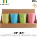 400ml Colorful Plastic Bamboo Fiber Cup (HDP-2013)
