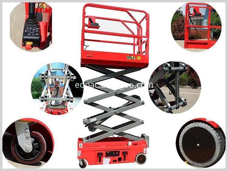 Electric Ladder Lifting Platform