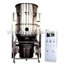 Granulador fluidificado para leche en polvo