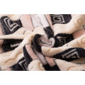 knit bonded rolls 100 polyester Coral Fleece fabric