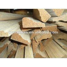 moldeado de madera de teca de reconocimiento