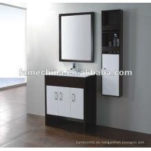 2013 blanco y negro gabinete de baño de color (FM-S8009-8010)