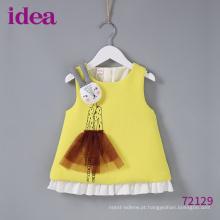 72129 Novo Design para Baby Girl Jumper Skirt Dress