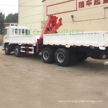 8Tons Hydraulic Knuckle Boom Truck Mounted Crane from China Factory Made In China Cylinder