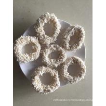 Frozen Breaded Squid Ring, Battered Rings, Gigas, Mter: 4-9cm, 50% Coating, No Prefry/Prefry FDA