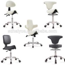 оранжевый салон искусственная красота парикмахерская стулья с крестовина
