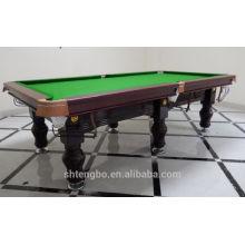 Economic 8ft MDF billiard table,classic type mini pool table on sale