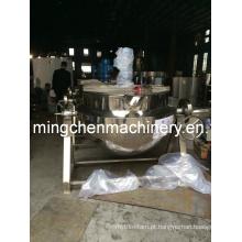 Chaleira de cozimento multifuncional de aquecimento elétrico com agitador