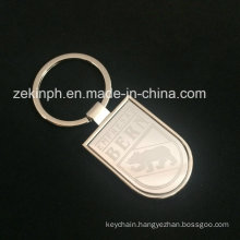 Laser Engraved Metal Keychain with Custom Logo