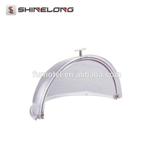 P255 High Quality Kitchen PC Round Clear Half-turn Thicker Food Cover