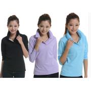 Cheap Factory Work Uniform Women Polo Cotton T-Shirt