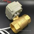Gutentop water solenoid valve dc 12v micro water electric motor ball valve