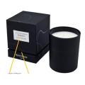 Customized Black Gift Box Candle Jar Box Luxury