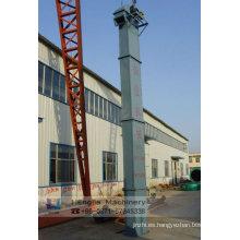 Elevador de cangilones, equipos de transporte