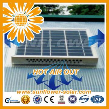 Profesional buen servicio 14inch 30w pared solar ventilador de ático de montaje con gran precio