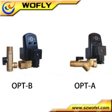 oil brass boiler drain solenoid valve for water