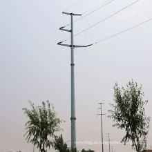 110kv Transmisión de potencia de esquina Torre de tubo de acero