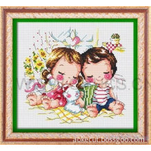 frame gallery cross stitch matboard v groove passepartout profile mount outer hole flower cutter engraving machine