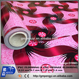 HOT SALE DURABLE AND ANTI-SLIP 0.35mm*2M*25M PVC INDOOR USAGE FLOORING
