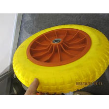 4.00-8 Wheelbarrow Wheel PU Foam Wheel