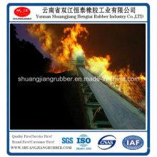 Cinta transportadora de goma correa de PVC resistente al calor