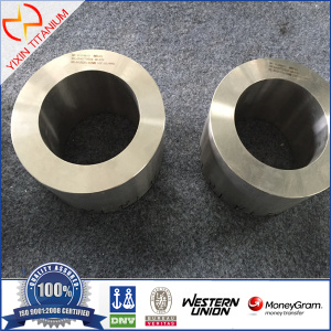 ASTM B381 Gr7 OD185 Titanium gesmeed Ring