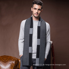 Herren Classic Winter Warm Wolle Acryl gestrickter Schal (YKY4611)
