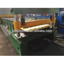 Máquina de fabricação de chapas de aço galvanizado ondulado, R Painel e máquinas de fabricação de folhas de telhado