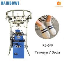 nouveau design entièrement informatisé jacquard chaussettes faisant la machine