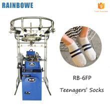 new design fully computerized jacquard socks making machine