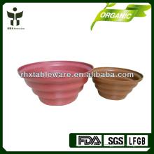 Pot de fleurs en fibre de plantes Pot de fleur biodégradable