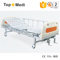 Topmedi Hospital Furniture Manual Two Function Steel Hospital Bed